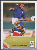 Soccer European Cup 1996 - Football - GAMBIA - S/S MNH - Europei Di Calcio (UEFA)