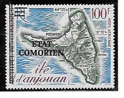 TIMBRE NEUF DES COMORES SUCHARGE EN 1975 N° MICHEL 207 - Comoros