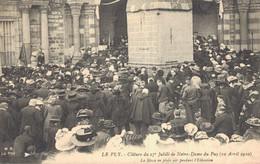 H0109 - Clôture Du 27e Jubilé De Notre Dame Du PUY - D43 - La Messe En Plein Air Pendant L'Elévation - Le Puy En Velay