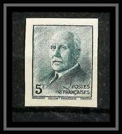 France N°524 Pétain Non Dentelé ** MNH (Imperf) - Ungezähnt