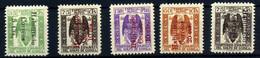 Guinea Española Nº 259B/E, 259G. Año 1939/41 - Guinea Spagnola