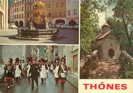 CPSM Thônes-Multivues-Timbre    L898 - Thônes