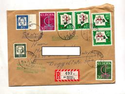 Lettre Recommandee Munster Sur Europa Conte - Machine Stamps (ATM)
