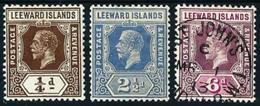 Leeward (Británica) Nº 61-68-73 Cat.28€ - Leeward  Islands