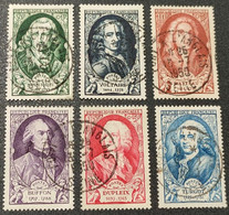 N° 853 à 858  Avec Oblitération Cachet à Date De 1950  TTB - Used Stamps