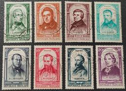 N° 795 à 802  Avec Oblitération Cachet à Date Centrale De 1948  TTB - Used Stamps