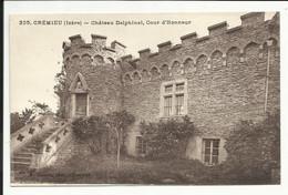 CREMIEU ( Isère ) , Château Delphinal , Cour D' Honneur - Crémieu