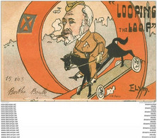 POLITIQUE SATIRIQUE. Looping The Loop Par Elym 1903 - Satirical