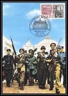 1785/ Carte Maximum (card) France N°1410 Libération De Paris Et De Strasbourg Fdc Premier Jour - 1960-69