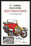 1881/ Carte Maximum (card) France N°1448 Maisons Des Jeunes Et De La Culture 1er Rallye Franco Belge 1965 - 1960-69