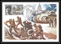2376/ Carte Maximum (card) France N°1607 Libération De Paris Et Maréchal Leclerc - 1960-69