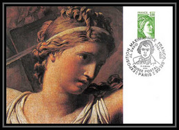 3404/ Carte Maximum (card) France N°1973 Type Sabine - 1970-79