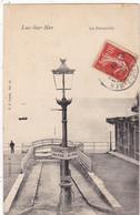 14. LUC SUR MER. CPA . LA PASSERELLE. ANNÉE 1907 + TEXTE - Luc Sur Mer
