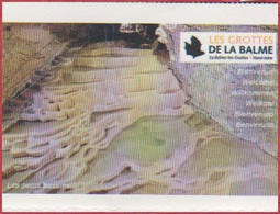 Les Grottes De La Balme. Visuel: Les Petits Bassins. Isère (38). 2021. - Biglietti D'ingresso