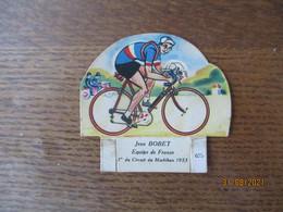 JEAN BOBET EQUIPE DE FRANCE 1er DU CIRCUIT DU MORBIHAN 1953 LA VACHE SERIEUSE 675 - Other