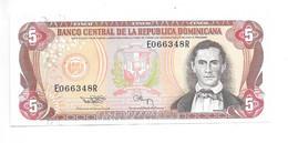 *dominican Republic 5 Pesos 1994  Km 146  Xf+ - Dominicana