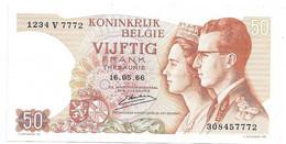 *belguim  50 Franc 1966 Kerstens  Vf+  46c - Altri