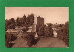 24 Montferrand-du-Périgord Le Chateau Au Coucher Du Soleil  CPA1953 EDIT Rodolphe Germain N° 4 - Other Municipalities