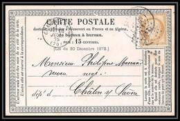 8725 LAC ? N 55 Ceres 15c Chalons-sur-saone France Precurseur Carte Postale (postcard) - Tarjetas Precursoras