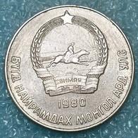 Mongolia 20 Möngö, 1980 -4742 - Mongolia