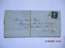 Lettre Dublin Irlande Pour Londres Two Pence 1853 Bon état Bon Timbre - Covers & Documents