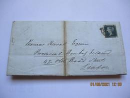 Lettre Dublin Irlande Pour Londres Two Pence 1847 Timbre Mauvais état - Lettres & Documents