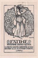 WW1 ERA Hungary - Poster Stamp - CINDERELLA - VIGNETTE- FATIME EXTRA RARE - Erinnophilie