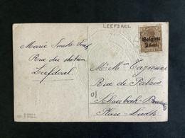 POSTKAART Duitse Bezetting WO I - RELAIS LEEFDAEL - [OC1/25] Gen. Gouv.