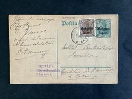 POSTKAART Duitse Bezetting WO I - RELAIS EPRAVE - [OC1/25] Gen. Gouv.