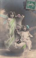 CPA   ENFANTS Papillons     RPH - Portraits