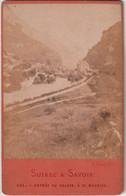 Rare CDV Suisse Et Savoie Entrée Du Valais à Saint Maurice   N° 131 - Lugares