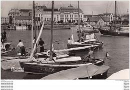 TROUVILLE DEAUVILLE LE BASSIN DES YACHTS CPSM 9X14 1955 TBE - Trouville