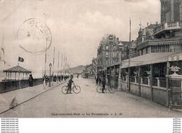 CABOURG SUR MER LA PROMENADE PRECURSEUR 1903 TBE - Cabourg