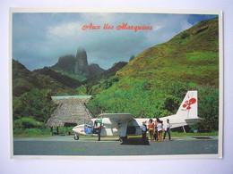 Avion / Airplane / AIR MOOREA / Britten-Norman BN-2A / Seen At Uapau Airport - Iles Marquises / Aéroport - 1946-....: Era Moderna