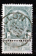 "BELGIE - OBP Nr 81 - ""BOUILLON"" - (ref. ST 1757) - 1893-1907 Coat Of Arms"