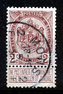"BELGIE - OBP Nr 82 - ""MONS 2 - BERGEN"" - (ref. ST 1758) - 1893-1907 Coat Of Arms"