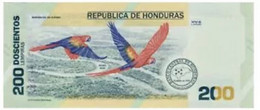 Honduras 200 Lempiras 2021 New Conmemorative Note - Honduras