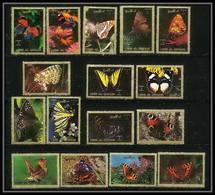 613a - Umm Al Qiwain MNH ** Mi N° 1498 / 1513 A Papillons (moths And Butterflies Papillon) - Schmetterlinge