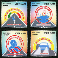Vietnam Viet Nam MNH Perf Stamps Issued On Sep 5, 2021 : Traffic Safety / Health Care / Motorbile / Car (Ms1147) - Viêt-Nam