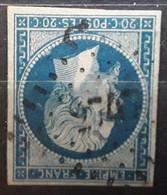 Empire No 14 A  Obl Pc 2747 De ROUSSY LE VILLAGE,  Moselle ,  Indice 19 TB - 1853-1860 Napoléon III