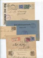 8635) 10 Belege Gesamtdeutschland - Affrancature Meccaniche Rosse (EMA)