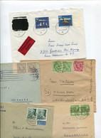 8435) 10 Belege Gesamtdeutschland - Affrancature Meccaniche Rosse (EMA)