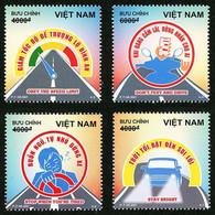 Vietnam Viet Nam MNH Perf, Imperf & Specimen Stamps 2021 : Traffic Safety / Health Care / Motorbile / Car (Ms1147) - Vietnam