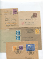 8420) 10 Belege Gesamtdeutschland - Affrancature Meccaniche Rosse (EMA)