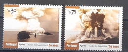 2007 - Portugal - MNH As Scan - 50 Years Of Capelinhos' Eruption - 2 Stamps - Unused Stamps