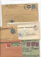 8626) 10 Belege Gesamtdeutschland - Affrancature Meccaniche Rosse (EMA)