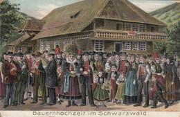 Bauernhochzeit Im Schwarzwald  Embossed - Baden-Baden