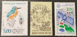 N° 2724/2671/2697 Avec Oblitération Cachet à Date Centrale De 1991/1992  TB - Used Stamps
