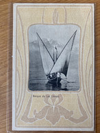 Barque Du Lac Leman - Deco (unused)  [N012] - VD Vaud