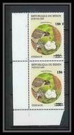 Bénin Dahomey 343 Michel N°1255 Oiseaux (birds) Neuf ** MNH Surcharge Overprint Différentes Overprint Cote 200 Euros - Benin – Dahomey (1960-...)